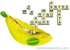 Spanish Word Games: Bananagrams - Spanish Playground