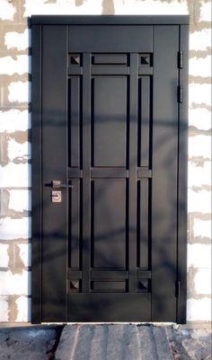 Modern Steel Gate Design, Window Grill Design Modern, Modern Design, Modern Entrance Door, Home Entrance Decor, House Entrance, Iron Gate Design, House Gate Design, Mobile Home Floor Plans