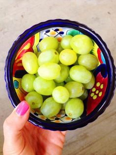 Cotton Candy grapes. They are so good. Go out and buy them now. Better than candy!