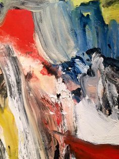 Willem De Kooning Artist Painting Detail Sothebys New York