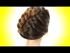 Hairstyles for long medium hair | How to French braid your hair and turn it into a cute braided updo for the holiday season. ★Seen last week's hair tutorial? http://youtu.be/p7hfNyinV9E ✔ Please don't forget to LIKE, SUBSCRIBE, COMMENT, SHARE. In today's 5-minute, quick and easy, step-by-step French braiding tutorial, I'm going to show you how to French braid on yourself and how to create a beautiful updo with a French braid tuck style. French plait hairstyles can be done on straight, curly…