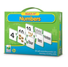 The Match It! Series features a wide range of award-winning educational titles. Each product in the series features self-correcting puzzle sets that introduce children to a specific educational topic