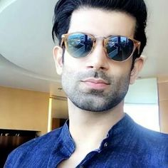 Namik Paul's upcoming show with Sanaya Irani Round Sunglasses, Mirrored Sunglasses, Mens Sunglasses, Namik Paul, Punjabi Men, Jennifer Winget, Tv Actors, Handsome, Celebs