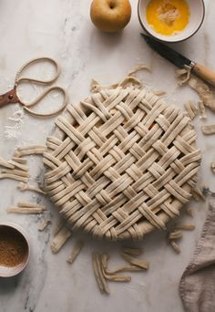 Asian Pear Apple Pie