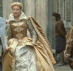 Shakespeare in Love (1998) Gwyneth Paltrow as Viola De Lesseps in wedding dress #CostumeDesign: Sandy Powell