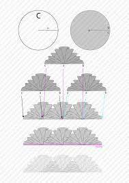 """Résultat de recherche d'images pour """"moldes de volantes de caracolillos"""""""