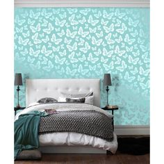 Nice Teal And Silver Tween//teen Bedroom