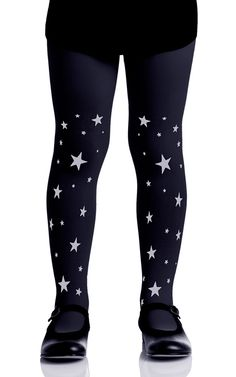 e9b878300fc Your little fashionista will love these starred girls tights from Zohara  Tights kids tights collection. These cute Black tights feature Grey Stars  print ...