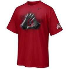 Nike Ohio State Buckeyes 2011 Pro Combat Rivalry Glove T-Shirt - Scarlet