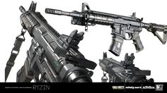 ArtStation - M4 Rare, RYZIN ART STUDIO