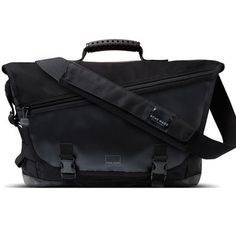 Acme Made Clyde St Messenger All Purpose Laptop Messenger Bag in Black Laptop  Messenger Bags f0b29ddf89390