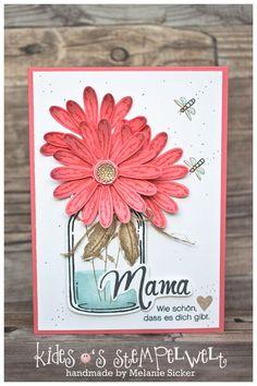 Karte zum Muttertag mit den Stempelsets Gänseblümchengruß und Glasklare Grüße von Stampin' Up! https://kidesos-stempelwelt.de/2017/05/14/gaensebluemchen-zum-muttertag/