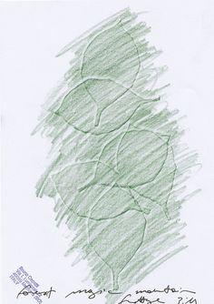 foglie (leaf) frottage_0002 by Bruno Capatti, via Flickr