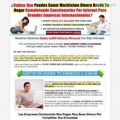 Importante: Nueva Y Excelente Carta De Venta Probada Y Optimizada Para Generar Las Mas Altas Converciones. Gana Mas De $24 Por Cada Venta See more! : http://get-now.natantoday.com/lp.php?target=encuestas