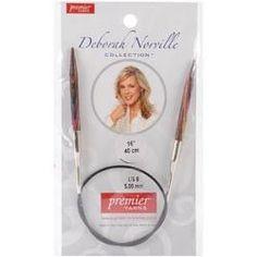 Deborah Norville Fixed Circular Needles 16in Size 8 (5mm)