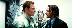McAvoy has never looked hotter.. Fassy is ALWAYS hot!!
