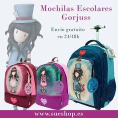 Santoro London, Cute Bags, Bellisima, Bella, Fashion Backpack, Backpacks, Pink, School Backpacks, School Supplies