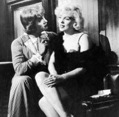 Con faldas y a lo loco #SomeLikeItHot #BillyWiler #MarilynMonroe