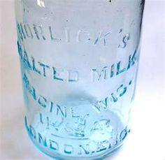 Horlicks Antique Malted Milk Bottle.   Flickr - Photo Sharing!