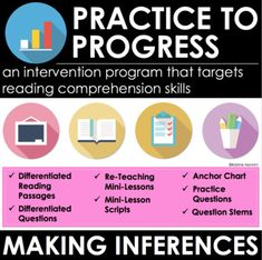 Summarizing - Reading Comprehension Passages and Questions - Intervention Reading Comprehension Passages, Comprehension Strategies, Reading Anchor Charts, Making Inferences, Common Core Reading, Reading Response, Student Reading, Reading Levels, Math Lessons