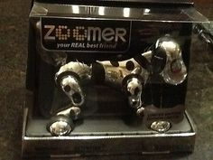 NEW IN SEALED BOX Zoomer Dog Chrome Exclusive Limited Edition Of 5000 RARE - http://hobbies-toys.goshoppins.com/robots-monsters-space-toys/new-in-sealed-box-zoomer-dog-chrome-exclusive-limited-edition-of-5000-rare/