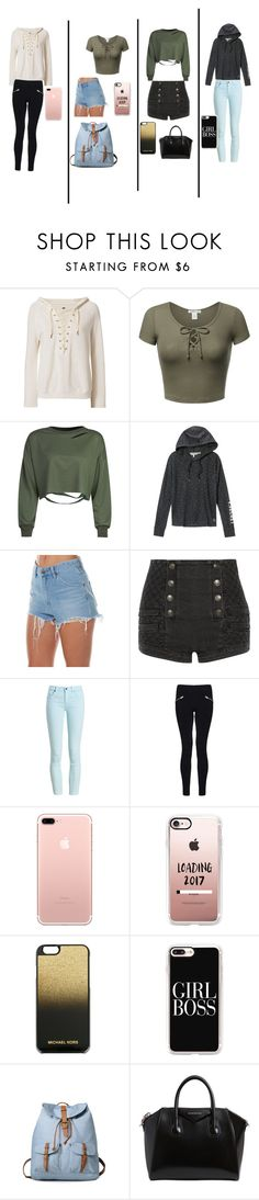 """Untitled #182"" by elin-17 ❤ liked on Polyvore featuring NSF, WithChic, Victoria's Secret, Wrangler, Pierre Balmain, Barbour, Dorothy Perkins, Casetify, MICHAEL Michael Kors and Givenchy"