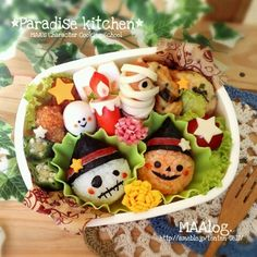 ☆ハロウィンキャラ弁教室のお知らせ☆ |*Paradise Kitchen*