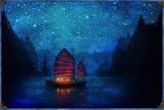 Adrift on a magical journey ~ starry, starry night....