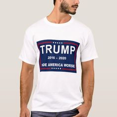 TRUMP MADE AMERICA WORSE AGAIN T-Shirt #trumpeter #trumpismypresident #TrumpResistance , back to school, aesthetic wallpaper, y2k fashion Basketball Humor, Trump Is My President, Closet Staples, Keep It Cleaner, Fitness Models, America, Wallpaper, School, Casual