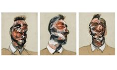 Three Studies for Portrait of George Dyer, by Francis Bacon. Photograph: Sotheby's
