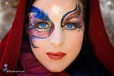 mystery Body Art, Mystery, Halloween Face Makeup, My Arts, Design, Body Jewelry