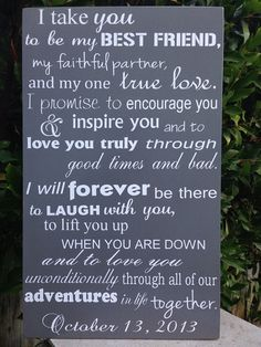 we ❤ this!  itsabrideslife.com #weddingvows
