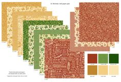 St Nicholas 6x6 Patterns & Solids Paper Pad in stores in mid August 2016 #graphic45