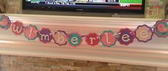 Adorable chic name banner from Etsy