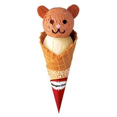 teddy ice cone