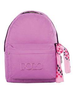 80f400da38 Σακίδιο Original POLO Bag Ροζ 9-01-135-11