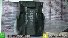dac76622a672 Supreme   LV Backpack HD Review From sneakeronfire.us