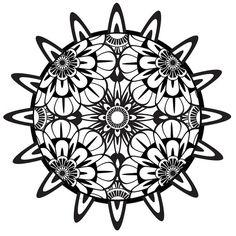 Mandala Coloring Pages PDF | Coloring Page, Mandala, Printable Coloring Page, Instant Download ...