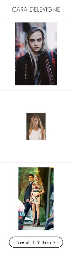 """CARA DELEVIGNE"" by ridleys ❤ liked on Polyvore featuring cara delevigne, models, people, pics, cara, cara delevingne, faces, girls, pictures and photos"