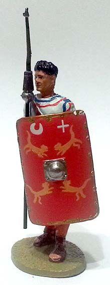 """Lanciere della Legio II Parthica, III secolo d.C,, numero 58 di """"Roma e i suoi nemici"""" (2010 Vadis) #Miniatures #Figures #AncientRome #OspreyPublishing"""
