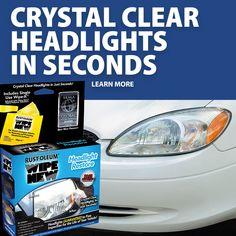 Headlight Cleaner, View Video, Car Detailing, Restoration