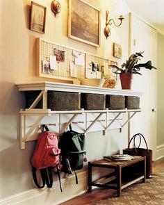 Shelf + storage