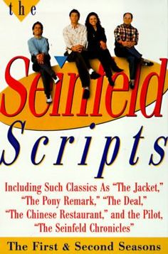 The Seinfeld Scripts by Jerry Seinfeld & Larry David