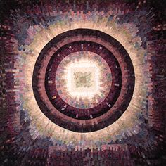 "String Theory, 50""W x 50""H betty busby--fine art in fiber"