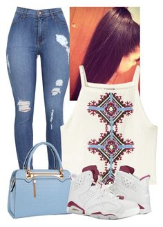 """""""Maroon 6s"""" by zoelh178 ❤ liked on Polyvore featuring H&M and Relaxfeel"""