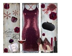 """red fashion#9"" by jaca-dramalija ❤ liked on Polyvore featuring Uttermost, WALL, Christian Dior, Shishi, Wallis, NARS Cosmetics, Jimmy Choo, Nordstrom and rosegal"