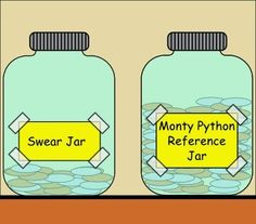 "Growing up it would have been a ""relating every sentence to a line from a musical"" jar."