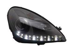 750.00$  Buy now - http://ali37y.shopchina.info/1/go.php?t=32813823284 -  Free shipping for car Head lamp for Mercedes-Benz R171 headlight SLK200 SLK350 SLK250 LED head light 2004-2011 H7 Xenon lamp  #buyininternet