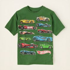 Hot Wheels graphic tee