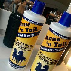 MANE'N TAIL - O famoso shampoo estimulante que conquistou as gringas e agora…